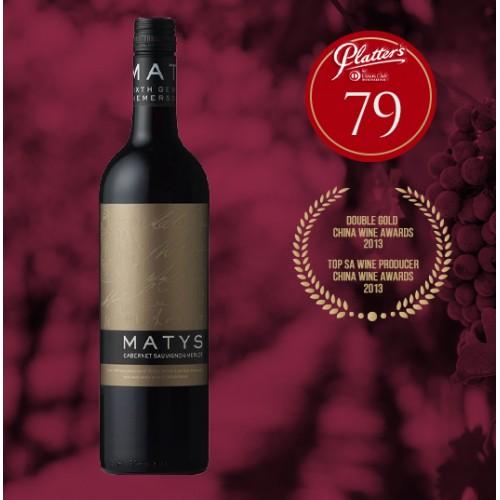 DIEMERSDAL Matys Red Blend (Cabernet Sauvignon, Merlot) Wine (750ml)